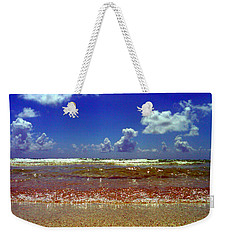 Weekender Tote Bag featuring the photograph Beach by J Anthony