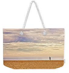 Beach Jogger Weekender Tote Bag