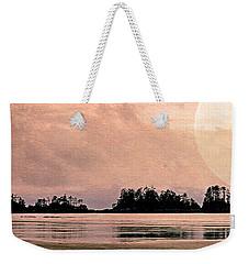 Beach Light Goodnight Weekender Tote Bag