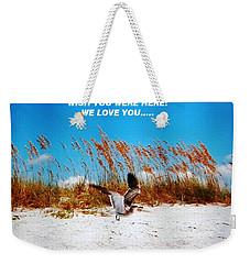Beach Mother Weekender Tote Bag