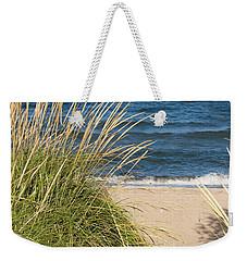 Beach Path Weekender Tote Bag by Barbara McMahon