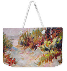 Beach Path Through The Dunes Weekender Tote Bag