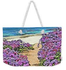 Beach Pathway Weekender Tote Bag