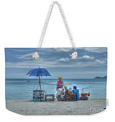 Beach Sellers Weekender Tote Bag by Michelle Meenawong