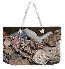 Beach Shells 2 Weekender Tote Bag by WB Johnston