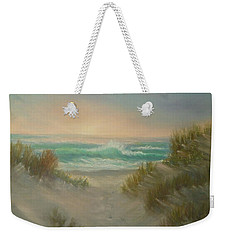 Cape Cod Beach Sunset Dunes Print  Weekender Tote Bag