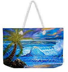 Beach Sunset In Hawaii Weekender Tote Bag