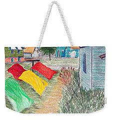 Beach Town Weekender Tote Bag by M West
