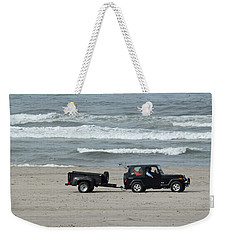 Beach Toys Weekender Tote Bag by E Faithe Lester