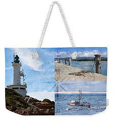 Beach Triptych 2 Weekender Tote Bag