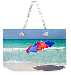 Beach Umbrella Weekender Tote Bag by Shelby  Young