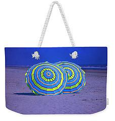 Beach Umbrellas By Jan Marvin Studios Weekender Tote Bag