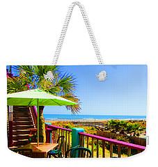Beach View Of The Ocean By Jan Marvin Studios Weekender Tote Bag