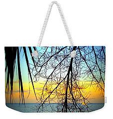 Beach View Through The Palms Weekender Tote Bag
