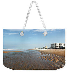 Weekender Tote Bag featuring the photograph Beach Vista by Todd Blanchard