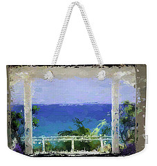 Beachfront Oasis Weekender Tote Bag by Anthony Fishburne