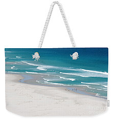 Weekender Tote Bag featuring the photograph Beachscape by PJ Boylan