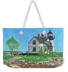 Beacon Of Hope Weekender Tote Bag by Troy Levesque