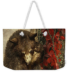 Bear Coming Down Weekender Tote Bag