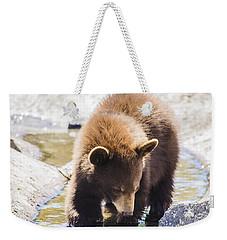 Bear Cub Weekender Tote Bag