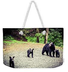 Bear Family Affair Weekender Tote Bag