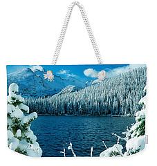 Bear Lake Weekender Tote Bag by Eric Glaser