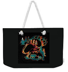 Blue Bears 2  Weekender Tote Bag