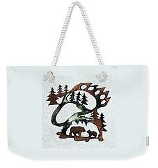 Bear Paw II 21 Weekender Tote Bag