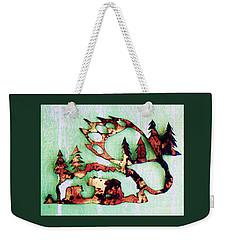 Bear Track 11 Weekender Tote Bag