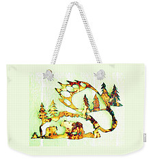 Bear Track 8 Weekender Tote Bag by Larry Campbell