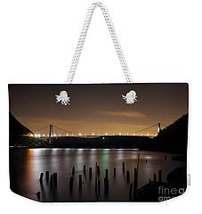 Bear Under The Sky Weekender Tote Bag