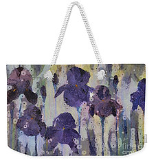 Bearded Irises Weekender Tote Bag