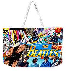 Beatles For Summer Weekender Tote Bag by Mo T