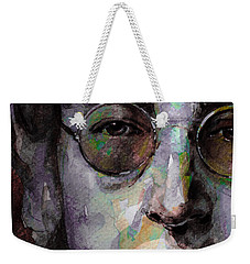Beatles - John Lennon Weekender Tote Bag