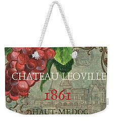 Beaujolais Nouveau 1 Weekender Tote Bag by Debbie DeWitt