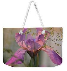 Beautiful And Mystical Iris  Weekender Tote Bag