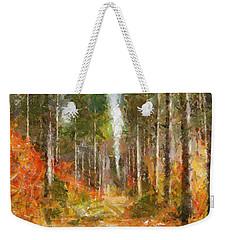 Beautiful Autumn Weekender Tote Bag by Dragica  Micki Fortuna