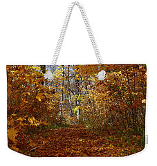 Beautiful Autumn Sanctuary Weekender Tote Bag