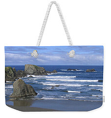 Weekender Tote Bag featuring the photograph Beautiful Bandon Beach by Will Borden