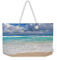 Beautiful Beach Ocean In Cancun Mexico Weekender Tote Bag