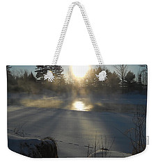 Beautiful Brisk Morning Weekender Tote Bag by Kent Lorentzen