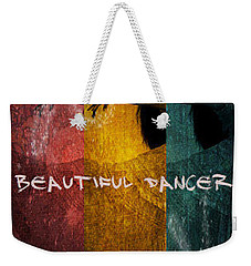 Weekender Tote Bag featuring the digital art Beautiful Dancer by Absinthe Art By Michelle LeAnn Scott