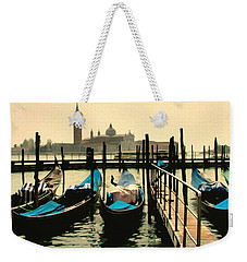 Weekender Tote Bag featuring the photograph Beautiful Day In Venice by Brian Reaves