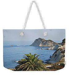 Weekender Tote Bag featuring the photograph Beautiful Erikousa 1 by George Katechis