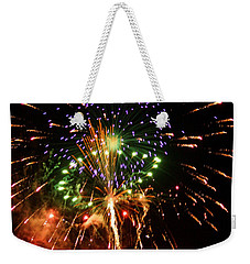 Beautiful Fireworks Works Weekender Tote Bag by Kim Pate