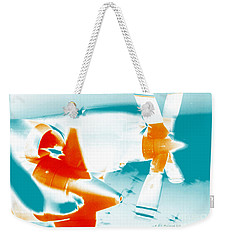 Weekender Tote Bag featuring the photograph Fixed Wing Aircraft Pop Art Poster by R Muirhead Art