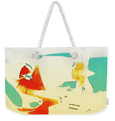 Weekender Tote Bag featuring the photograph Fixed Wing Aircraft Poster by R Muirhead Art
