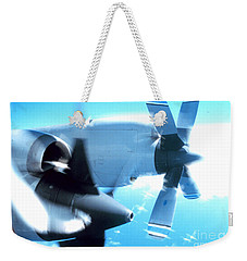 Weekender Tote Bag featuring the photograph Beautiful Fixed Wing Aircraft by R Muirhead Art