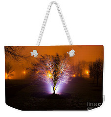Beautiful Foggy Night 2 Weekender Tote Bag