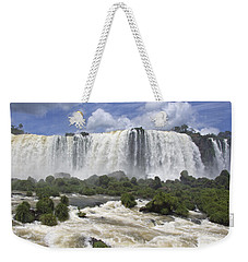 Beautiful Iguazu Waterfalls  Weekender Tote Bag
